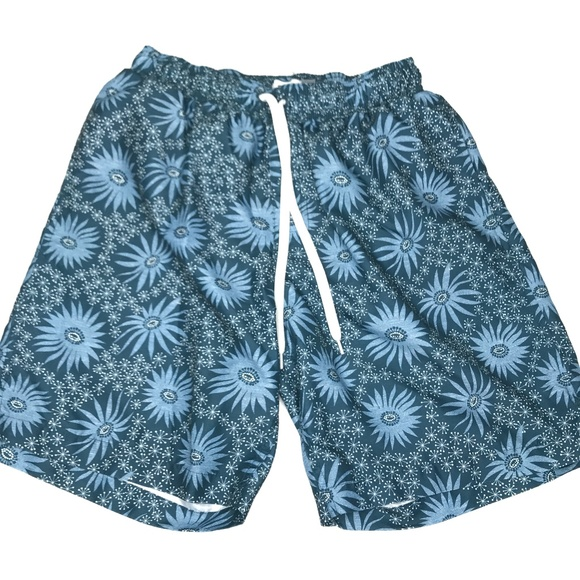 Old Navy Other - Old Navy Green Geometric Swim Board Shorts A170444